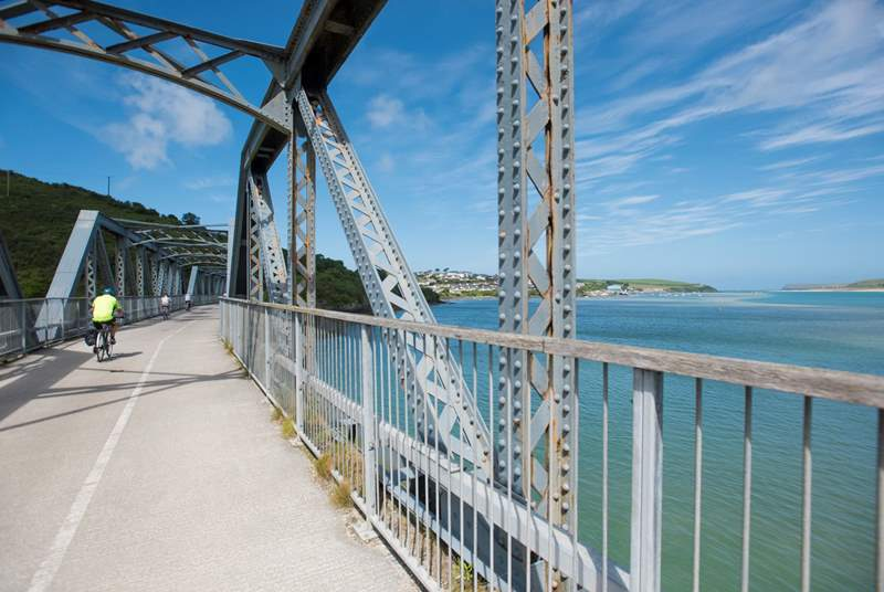 If you fancy going by pedal power, head to Wadebridge and take to the Camel Trail, setting off to Bodmin and the Moors in one direction and Padstow in the other.