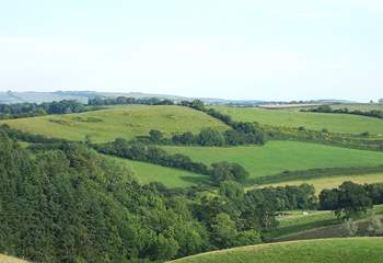 The surrounding countryside is stunning.