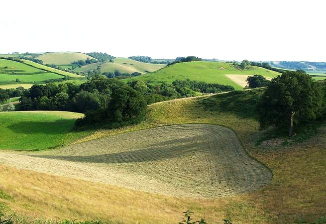 The countryside around Barbridge is stunning, ancient hillsides and wonderful views.