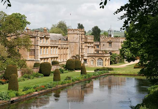 Visit Forde Abbey - an easy drive and a lovely day out.