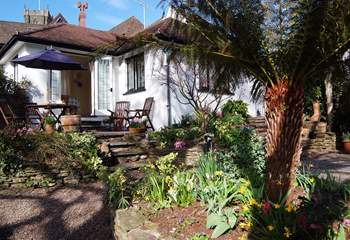 Little Bessemer is tucked away in the heart of this beautiful village, with a wonderful sub-tropical garden - inspiring whatever the time of year!