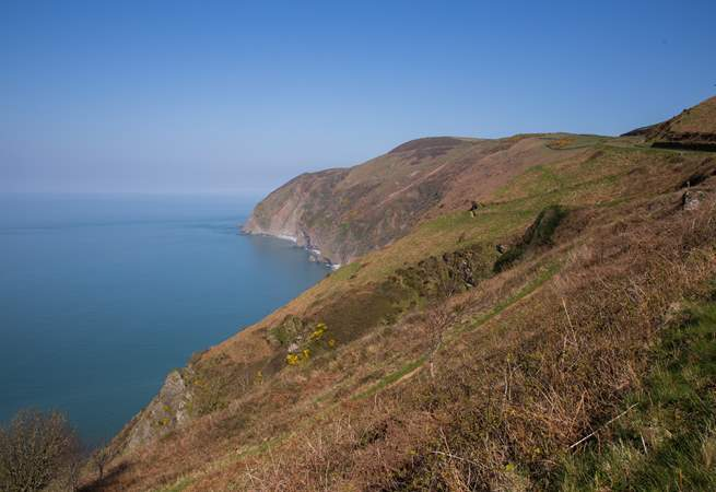 The Exmoor National Park meets the north Devon coast, giving you the option to explore the scenery inland as well as along the coast.