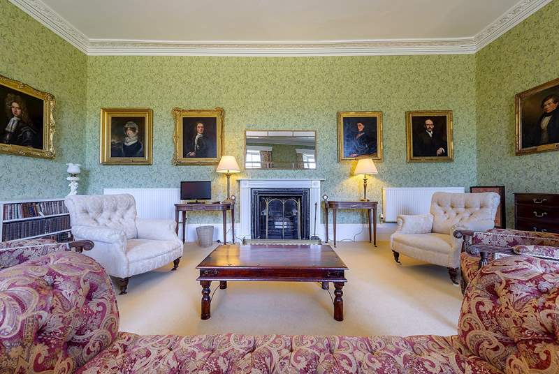The sitting-room.