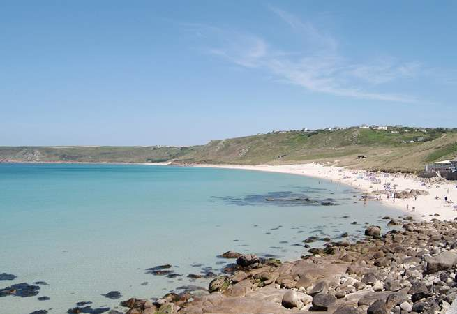 Sennen Cove is just six miles away.