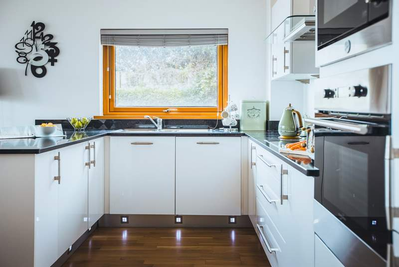 The kitchen will fulfil all your culinary needs.