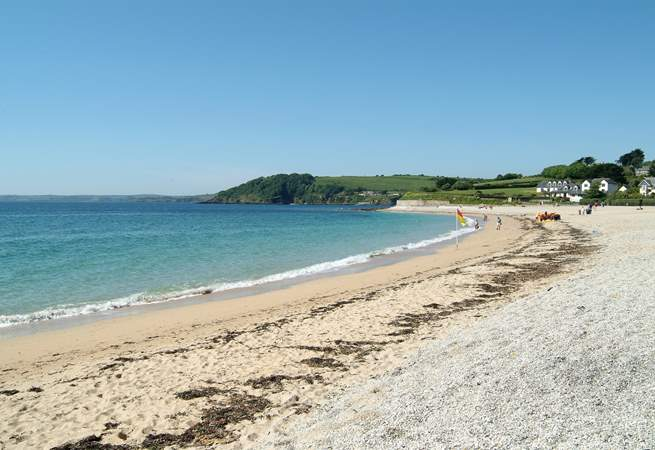 Gyllyngvase beach is less than a mile away, safe and sandy and with lifeguards spring to autumn; the South West Coast Footpath passes right by.