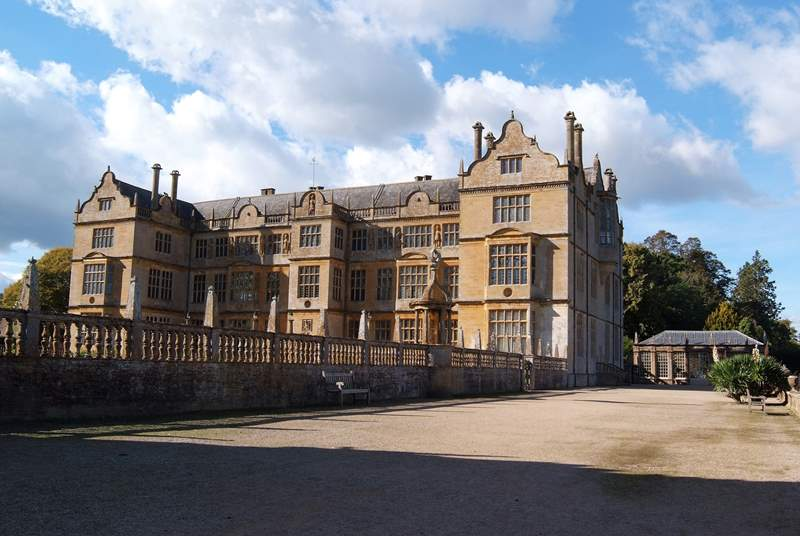 Montacute House is nearby.
