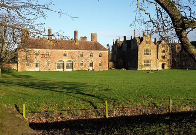 Barrington Court and gardens are just an easy stroll away  through the village.