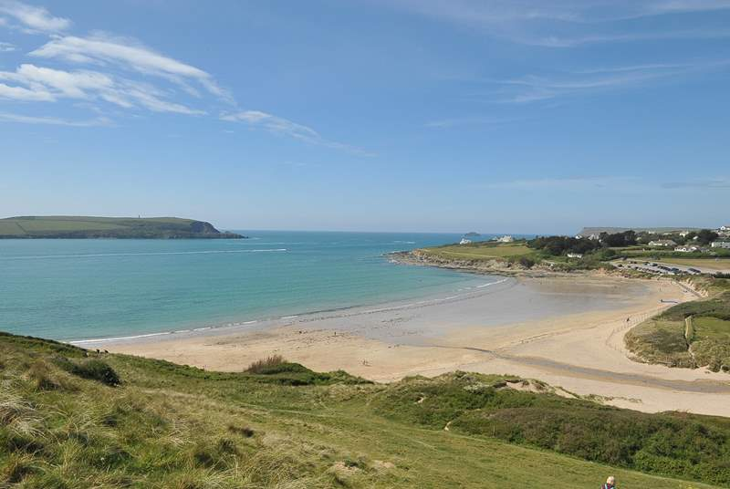 The nearby beach at Daymer Bay is a family favourite.