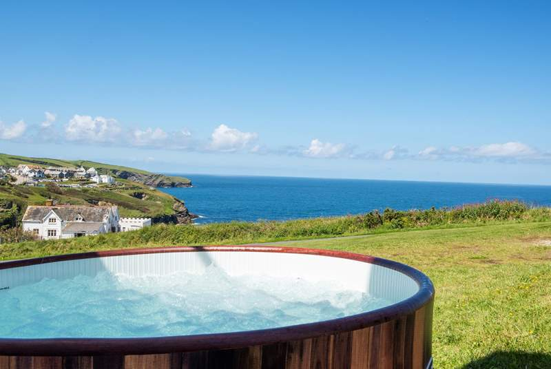To make your holiday even more special why not hire a hot tub during your stay. Please contact us for more details.