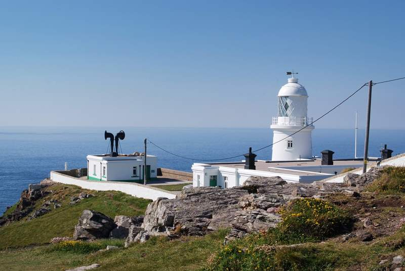 Pendeen Lighthouse is just up the road.