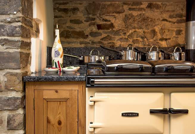 The Rayburn makes the kitchen the heart of the home.