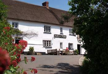 This is the Duke of York in Iddesleigh - featuring in 'War Horse'.