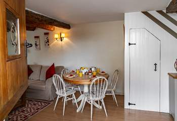 The front stable door will allow the outside in especially on those warm summer nights.