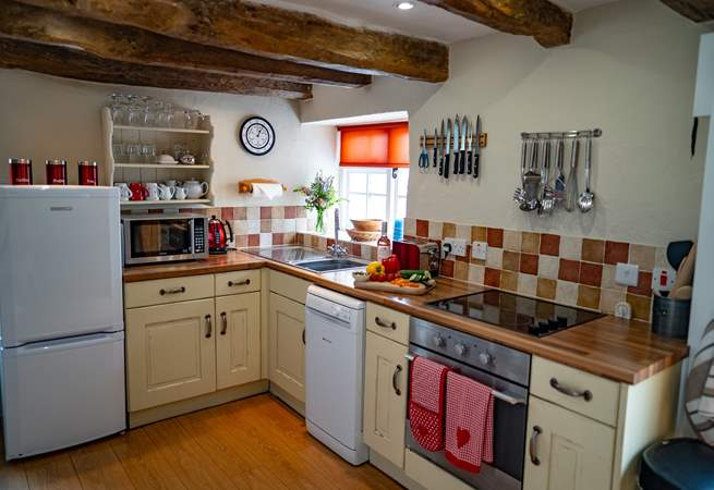 The kitchen is fully equipped allowing you to cook up a feast.