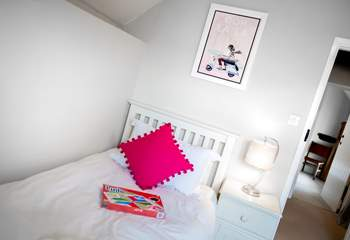 The twin room overs two 3ft beds offering the perfect option for children and adults.