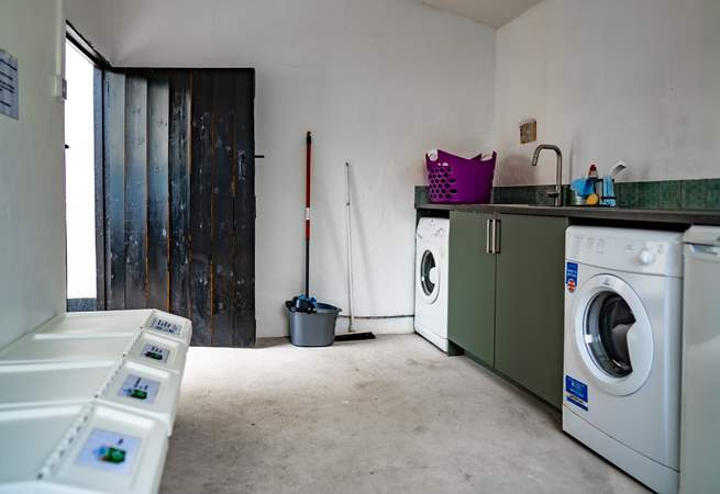 All recycling bins are stored in the utility room which will remain unlocked and fully accessible.