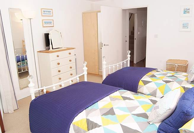 Another view of the twin bedroom.