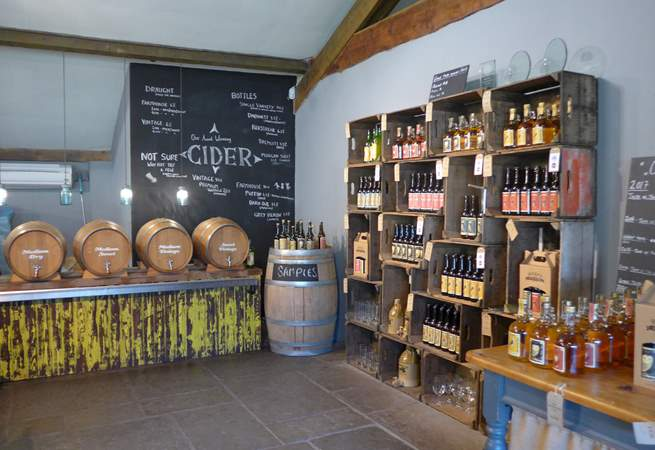 Somerset is the home of cider.