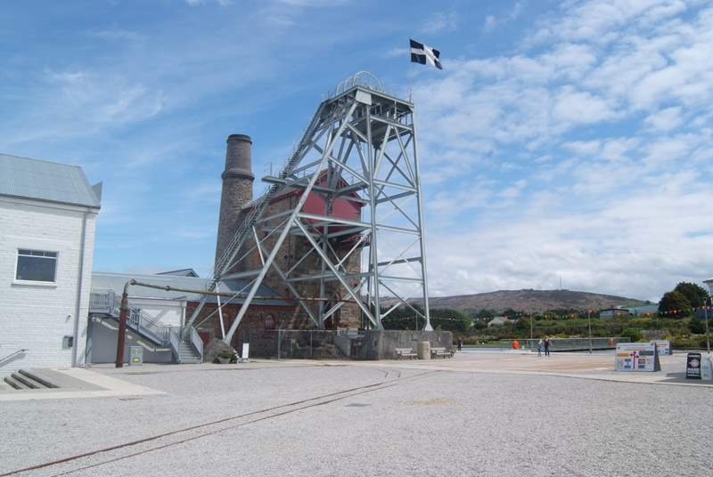 Discover Cornwall's mining history at Heartlands, there is something here for both adults and children as they have a large playground and a great cafe serving delicious treats!