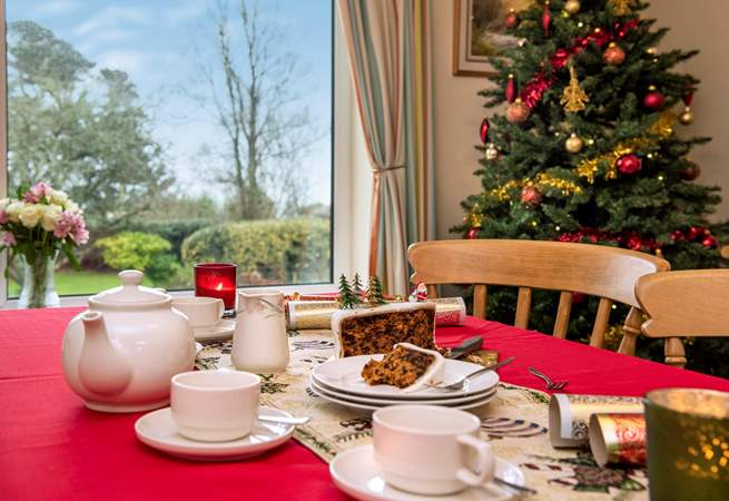 Why not treat yourselves to a well deserved Christmas escape?