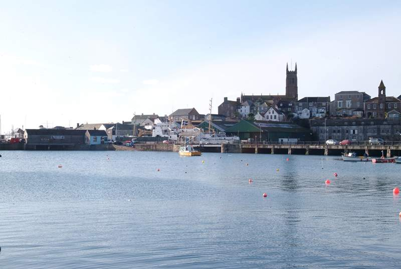 Penzance Harbour is just a short walk from Bumble Bee Cottage.