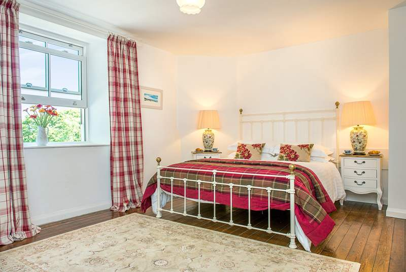 The cottage has three beautifully presented bedrooms.