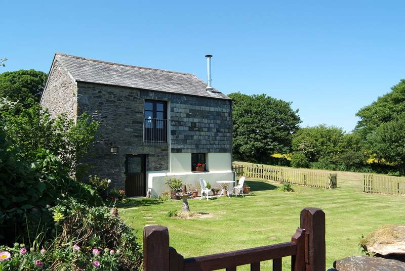 Demesnes Mill is a detached property with its own enclosed garden, within the grounds of the owners' property.