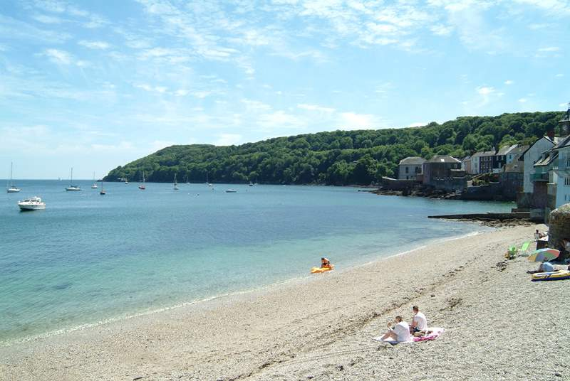 The beach at Cawsand.