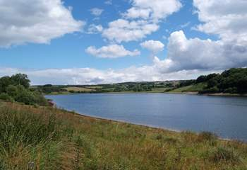 Wimbleball Lake on nearby Exmoor is great for walks and watersports.