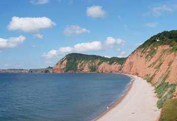 The east Devon coast is just under an hour's drive away - excellent for a full day out.