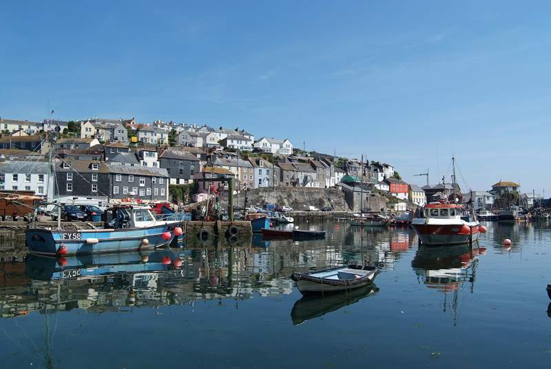 Mevagissey's picturesque harbour.