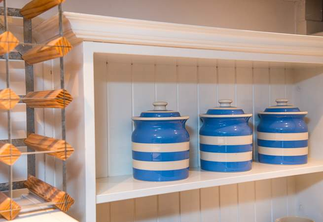 Lovely Cornishware, well what else would you expect?
