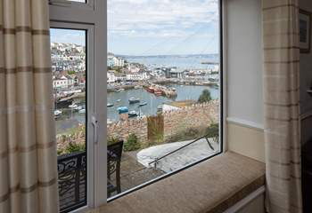 Fantastic views can be enjoyed from your living-room.