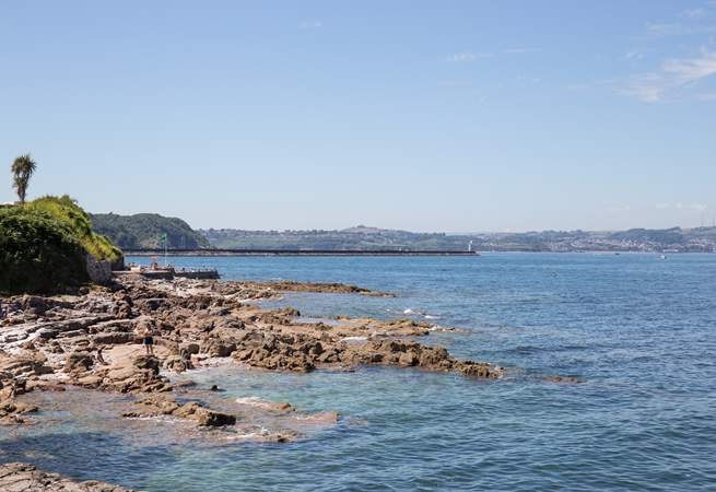 So many rock pools present themselves around the coastline. So much family fun can be found in these special spots.