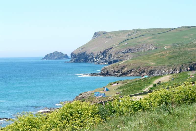 Polzeath has stunning coastal walks.