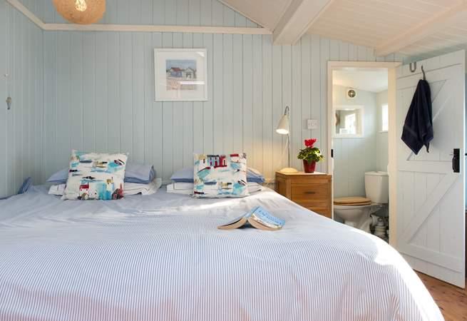 Both bedrooms have an en suite.