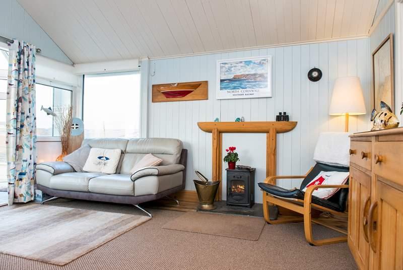 Krowji's cosy interior.