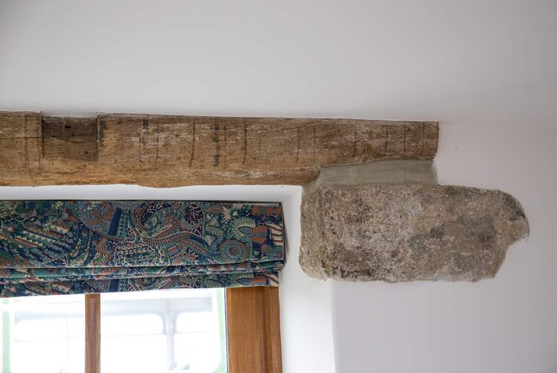 Old original oak lintels.