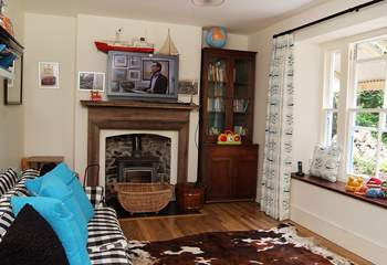 The children's room with television.