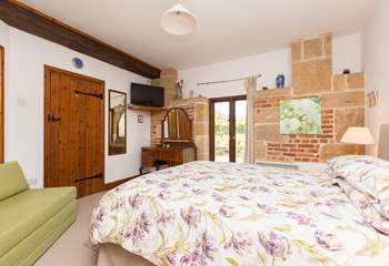 This is the master bedroom which has a new en suite shower-room.