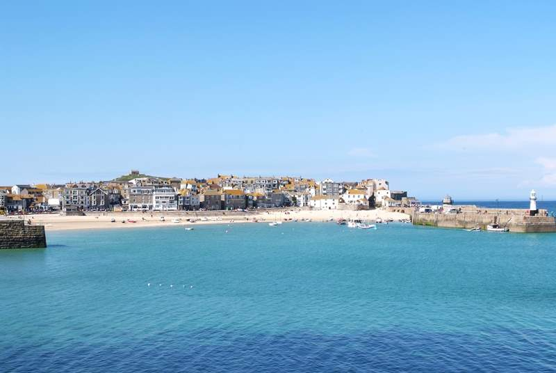 St Ives has beautiful beaches and is well worth a visit.