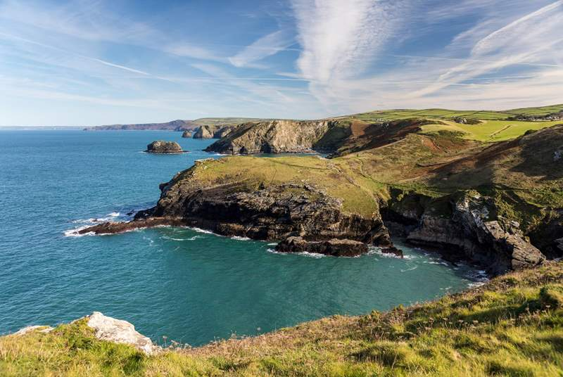 Nearby Tintagel is a fabulous day out.