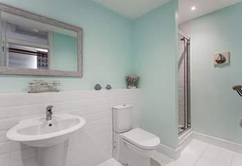 The family bathroom is very spacious.