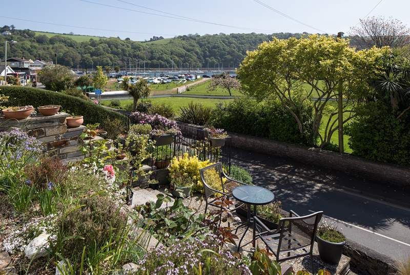 What a stunning view from the outside of Chindit Cottage.