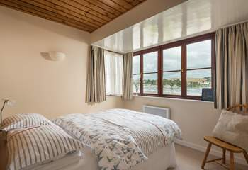 The master bedroom has fabulous views (Bedroom 1).