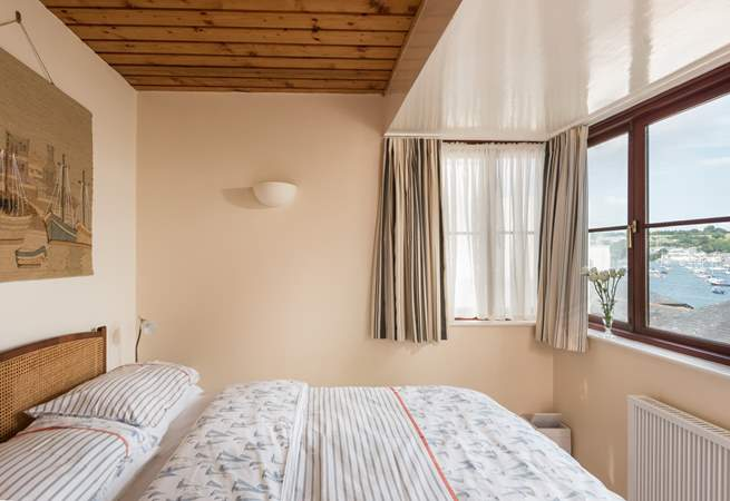 Enjoy the fabulous views from bed.