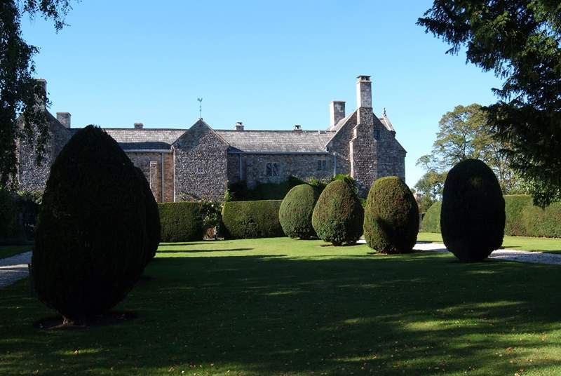 Cadhay House near Ottery St Mary, close to Honiton, is an incredible privately owned historic house and gardens that are open to the public on bank holiday weekends.