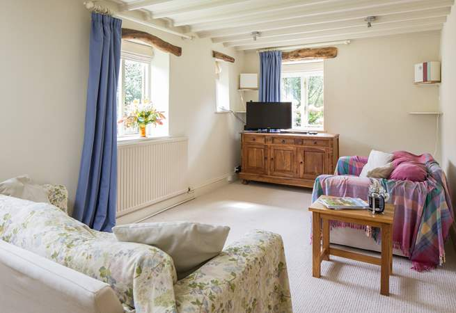The ground floor living-room provides that perfect space which doubles as a play-room should the weather let you down.