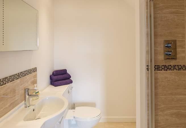 There is an en suite shower-room in Bedroom 1.